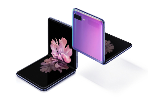 Samsung launches the Galaxy Z Flip