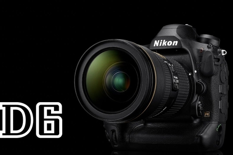 Nikon launches its powerful D6 camera