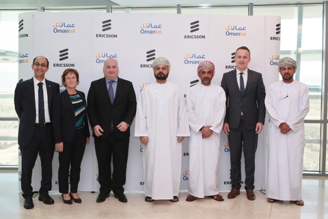 Omantel signs network digitalisation deal with Ericsson in Oman