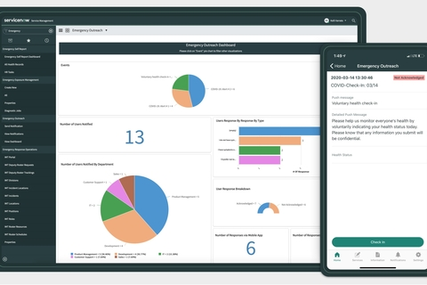 ServiceNow to help manage COVID-19 crisis with new apps