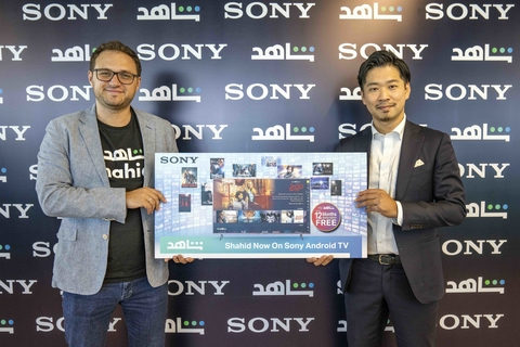Sony Bravia TVs to ship with Arabic SVOD service Shahid