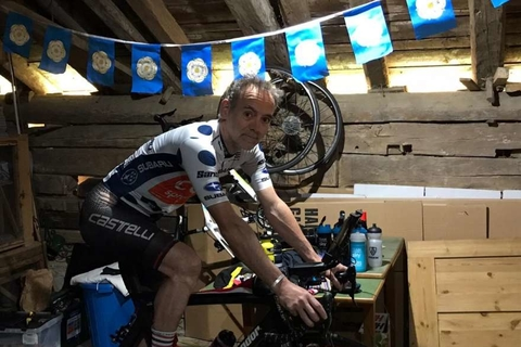 L-Acoustics' Tim McCall's cycles to raise funds