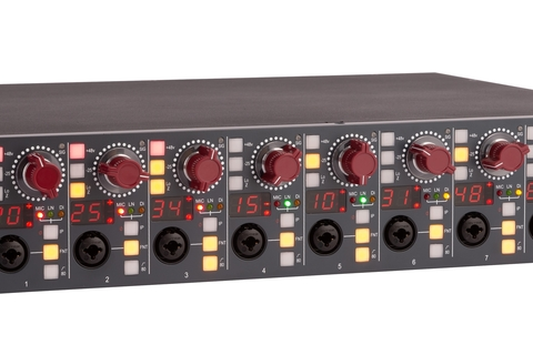 AMS Neve launches reimagined microphone preamp