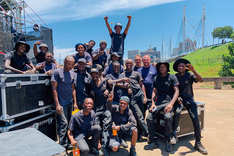 'Feed Our Crew' initiative in South Africa assists freelance professionals