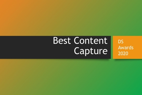 DS Awards 2020 category focus: Best Content Capture