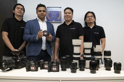 Sony teams up with Gearbox rental services in UAE