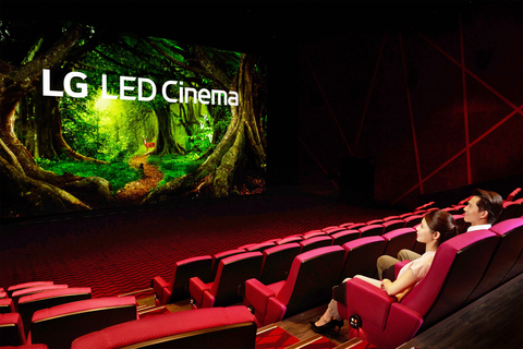Cinema in Taiwan replaces projector with giant LED screen