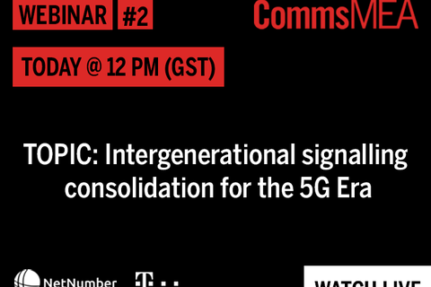 Live @12pm – Our webinar with Deutsche Telekom and NetNumber exploring intergenerational signalling consolidation in the 5G era