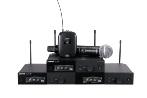 Shure introduces SLX-D Digital Wireless System