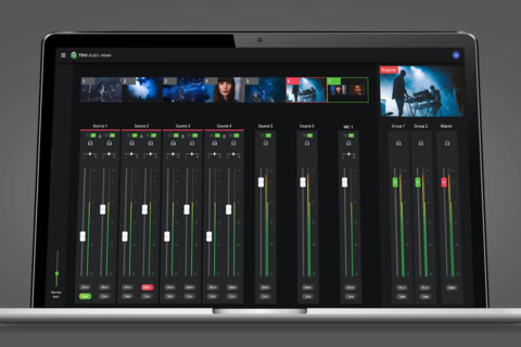 TVU networks adds audio mixing feature to TVU Producer