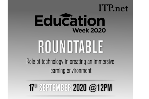 LIVE today at 12pm: Education Week 2020 webinar