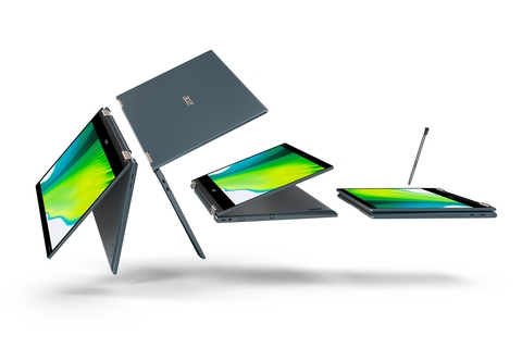 Acer launches Spin 7 convertible notebook